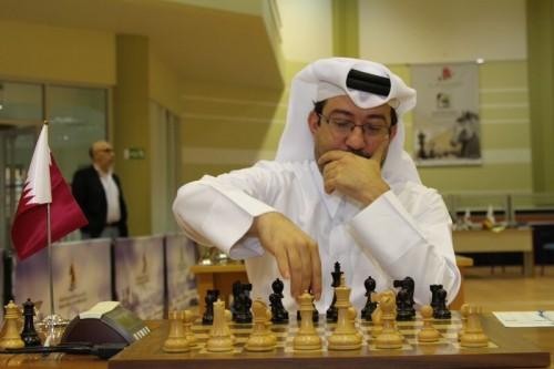 Qatar's GM Mohammed Al-Sayed
