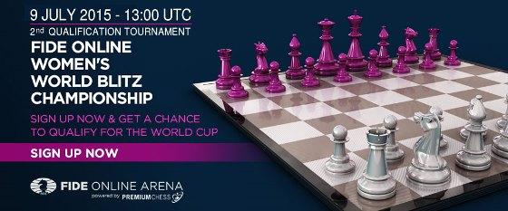 FIDE World Online Women Blitz Championship 2015 2
