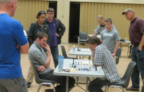 Decisive game of the Championship: IM Tomas Krnan - IM Leonid Gerzhoy