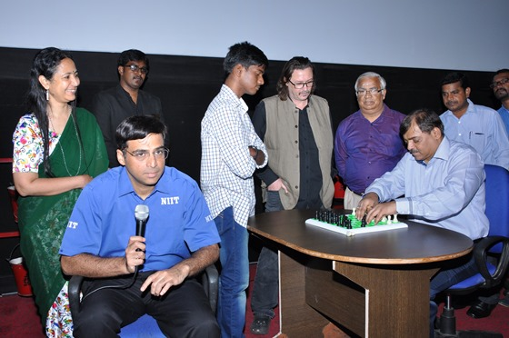 Viswanathan Anand launches the release of multi-award winning documentary ALGORITHMS