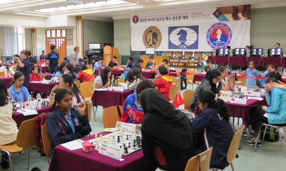 Asian Youth Chess Championships 2015 – Round 3 Report | Chessdom