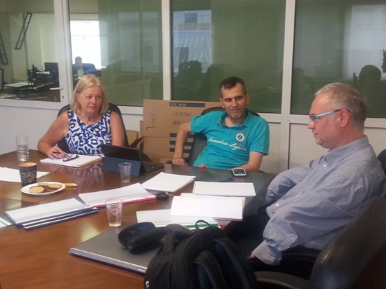 FIDE Commission for the Disabled (DIS) meeting in Athens