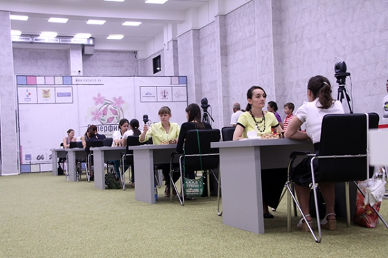 Girya and Goriachkina ahead in the Women's Contest
