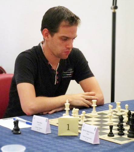 GM Imre Hera from Hungary came out second