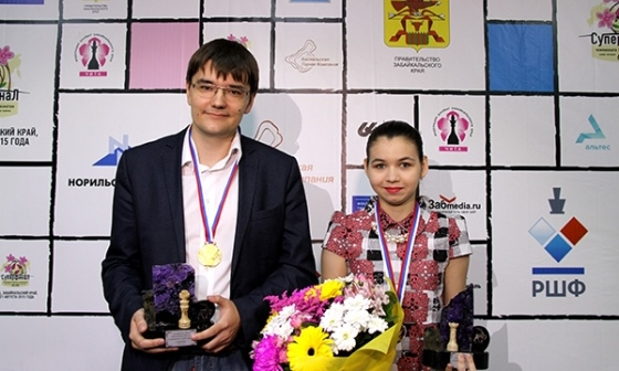 Tomashevsky and Goriachkina are Russia's Chess Champions