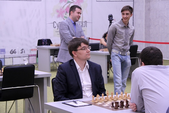 Tomashevsky leads in the Men's Russian Championship Superfinal