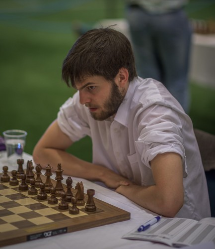 Nils Grandelius when he became swedish champion earlier this summer (пhoto credit: Lars OA Hedlund)