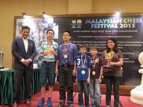 35th ASTRO Merdeka Rapid Tream Championships - First U12