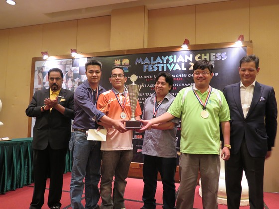 35th ASTRO Merdeka Rapid Tream Championships - Open Champions
