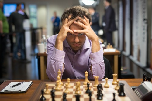Levon Aronian, winner of the most recent event of the Grand Chess Tour