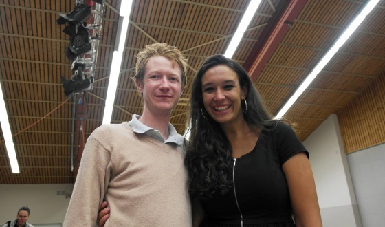 Jamie Kenmure and WIM Fiona Steil-Antoni