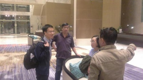 Le Quang Liem has arrived in Baku after many hours of travel