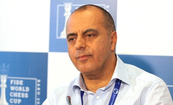 Tournament Director of the FIDE World Cup 2015 and Chess Olympiad 2016 Mahir Mamedov