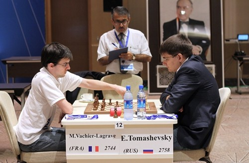 Maxime Vachier-Lagrave is through to the next round