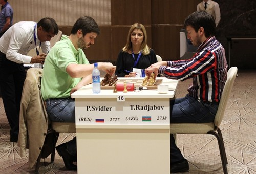 Peter Svidler eliminated Teimour Radjabov