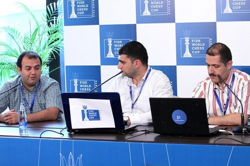 Rauf Mamedov joined the Azeri live commentary