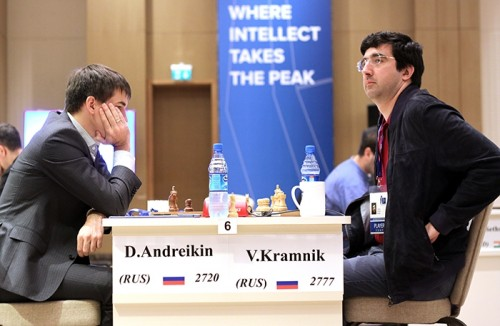 The match between the finalists of 2013 FIDE World Cup
