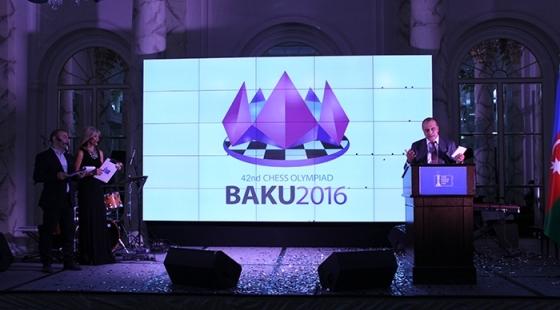 baku chess olympiad logo presented Σκακι��ικ�� Αθλη�ικ��