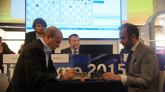 Chess visits the Italian Stock Exchange