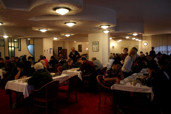 Etna Chess Festival - playing hall