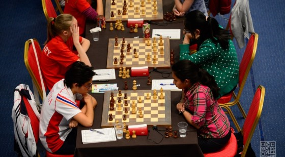 FIDE World Youth & Cadets Championship 2015 - Round 3