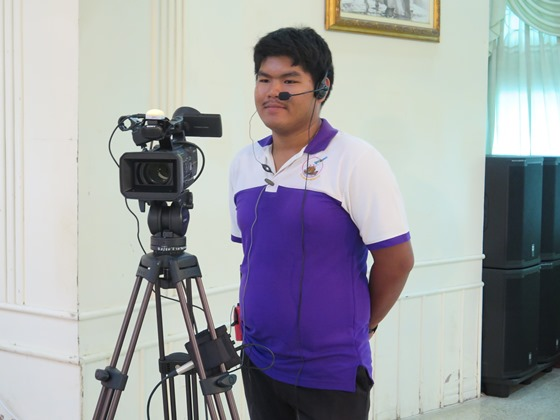One of Many Video Camera Operators