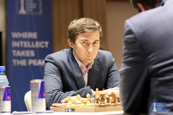 Sergey Karjakin evens the score in FIDE World Cup final