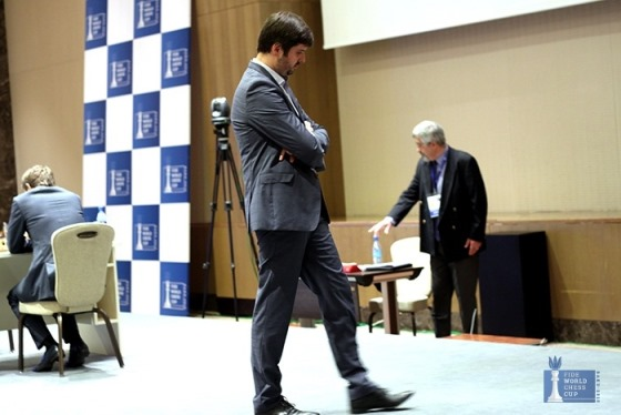 Sergey Karjakin evens the score in FIDE World Cup final 2