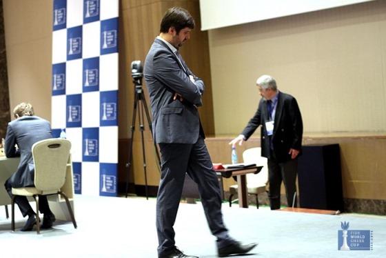Sergey Karjakin evens the score in FIDE World Cup final 2