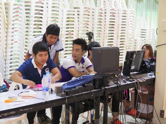 Student Media Team at Work