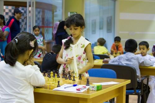 Dubai Chess Club talent Maitha Farooq - U8