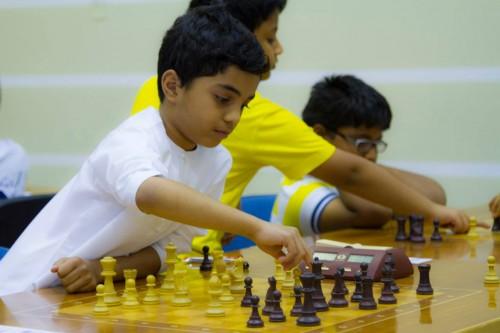 Hamad Essa Al-Blooshi represented Dubai Chess Club U8