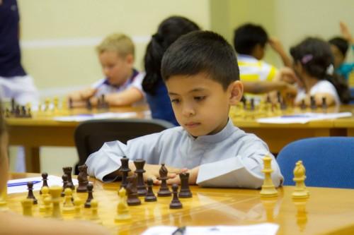 Dubai Chess Club player Mesfer Al Mesafri