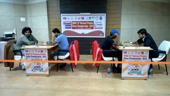 53rd India National Premier Chess Championship - Round 4