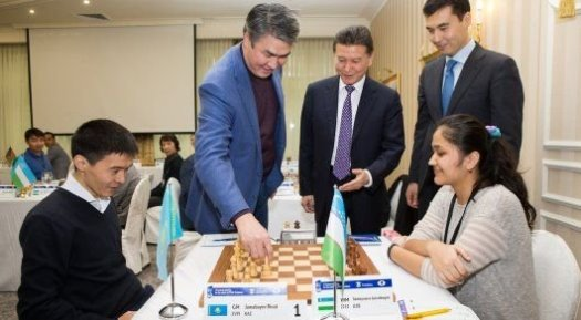 GM Rinat Jumabayev winner of 4th Central Asia Chess Cup