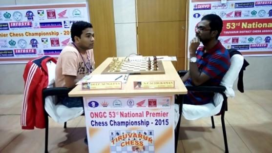 GM-SP-Sethuraman-recorded-a-crucial-win-over-GM-Deep-Sengupta