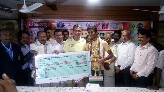 Karthikeyan Murali Is The New Indian Champion