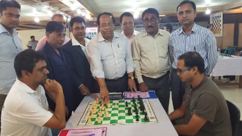 Mr. Ashok Kumar Biswas Secretary of NSC Inaugurating of National Chess