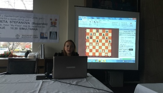 Antoaneta Stefanova lecture