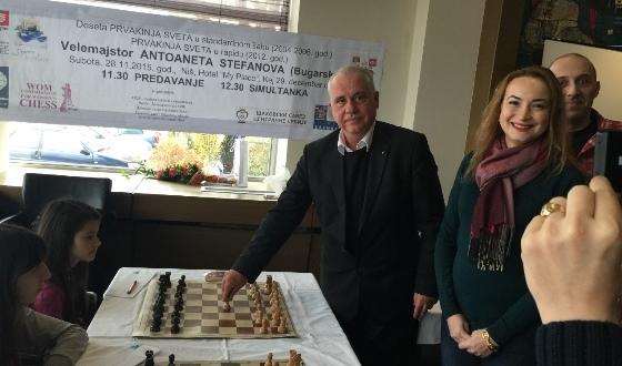 Consul of Bulgaria Atanas Krstin