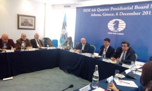 FIDE Presidential board meeting (photo by A. Karlovich)