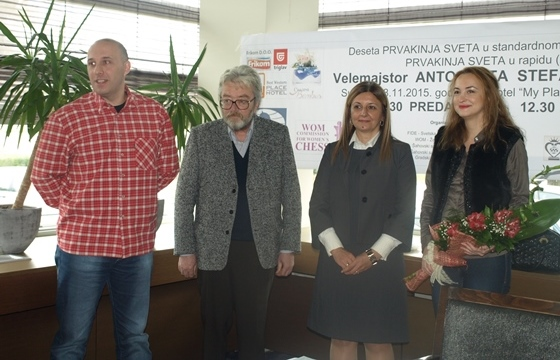 Igor Lukic, Branislav Suhartovic, Dragana Simic and Antoaneta Stefanova