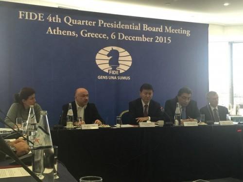 Today's Presidential board meeting (photo by B. Balgabaev)