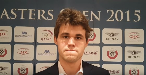Magnus Carlsen wins Qatar Masters Chess Open 2015