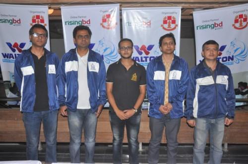Silver medalists Bangladesh Navy