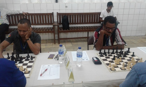 Timorese Players in deep thought