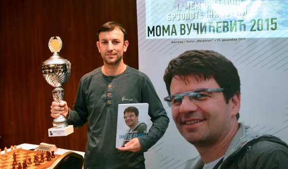 Tournament winner GM Miodrag R Savic