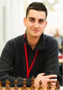 Benjamin Bok, sole leader of the FIDE Open