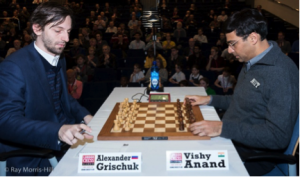 Grischuk-Anand was today's lone decisive encounter