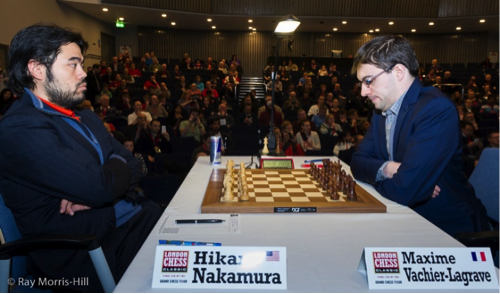 The most exciting encounter of Round 2: Nakamura vs Vachier-Lagrave